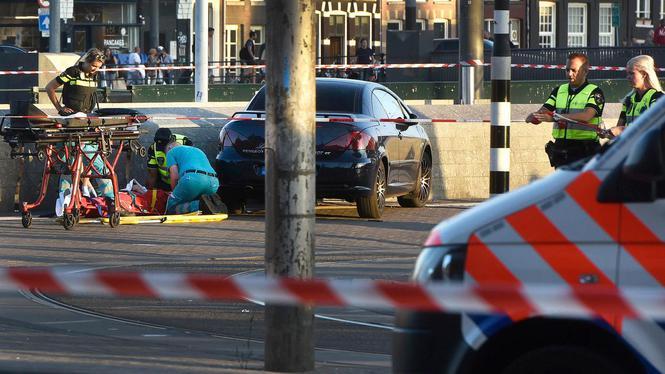 Automobilist aanrijding Centraal Station niet vervolgd
