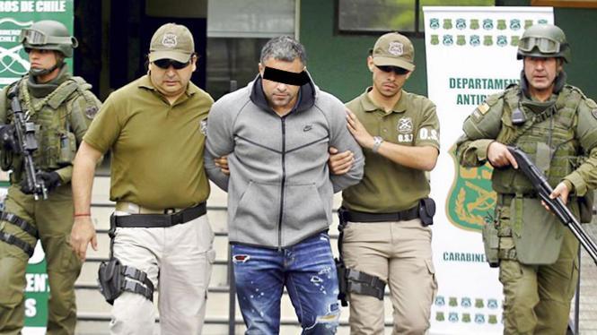 'Rico de Chileen' beschuldigd van grootschalige cocaïnehandel