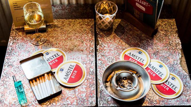 Rookruimte-verbod is 'dramatisch', ook voor coffeeshop