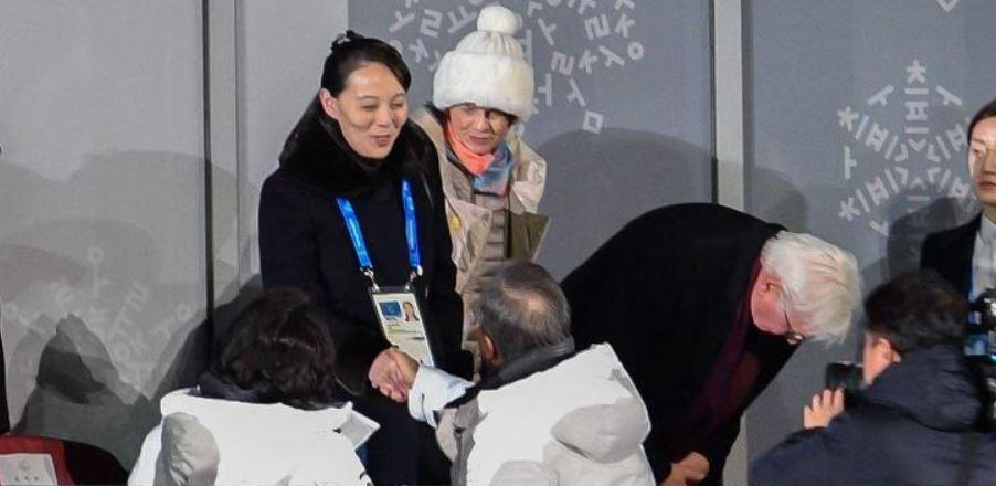 Bijzondere handdruk tijdens openingsceremonie Olympische Spelen