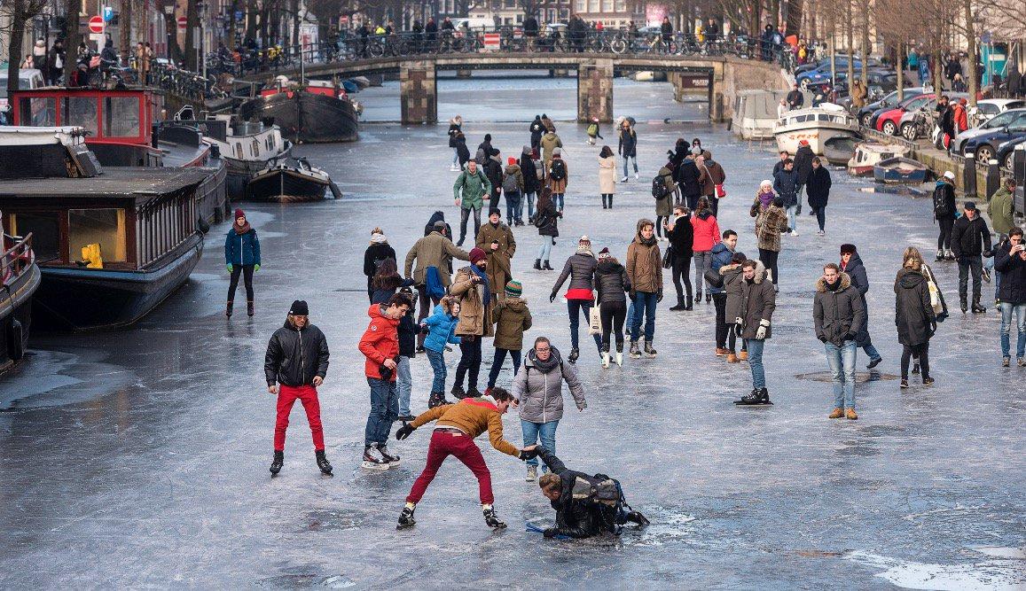 Schaatsen in en om Amsterdam: nu of nooit