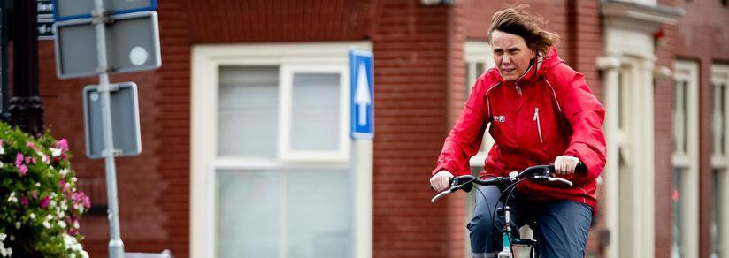 Code geel voor windstoten Amsterdam