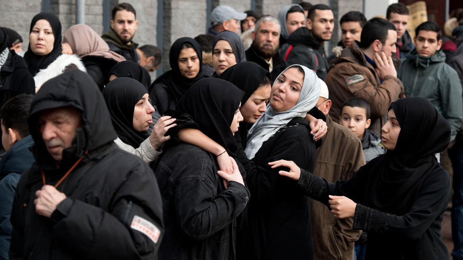 Mohammed vandaag begraven in Marokko
