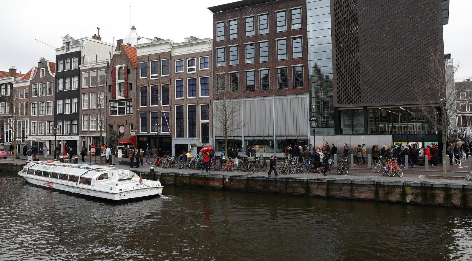 Buurt bezorgd over uitbreiding steiger bij Anne Frankhuis