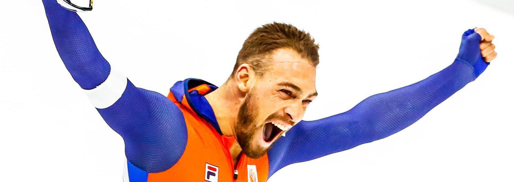 Kjeld Nuis wint ook goud op 1000 meter