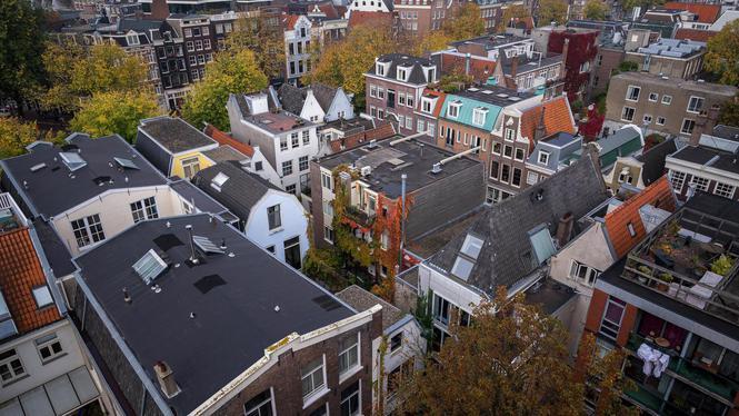 Huizenprijzen in Amsterdam 13,5 procent gestegen