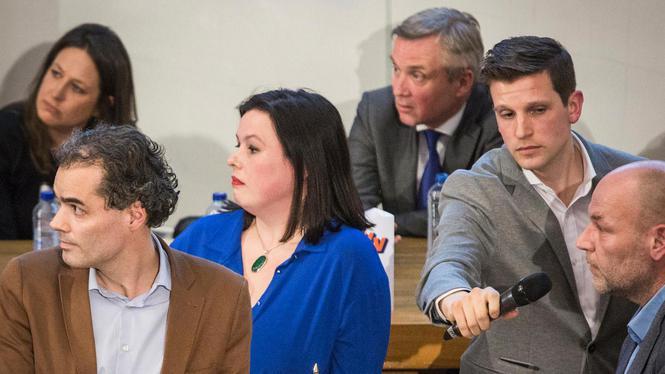 Student blijft zweven na rumoerig UvA-debat