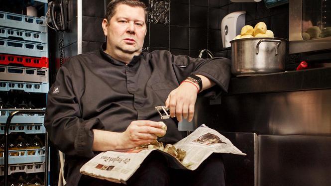 Chef Schilo van Coevorden: 'Die van mij willen alleen eten met een p'