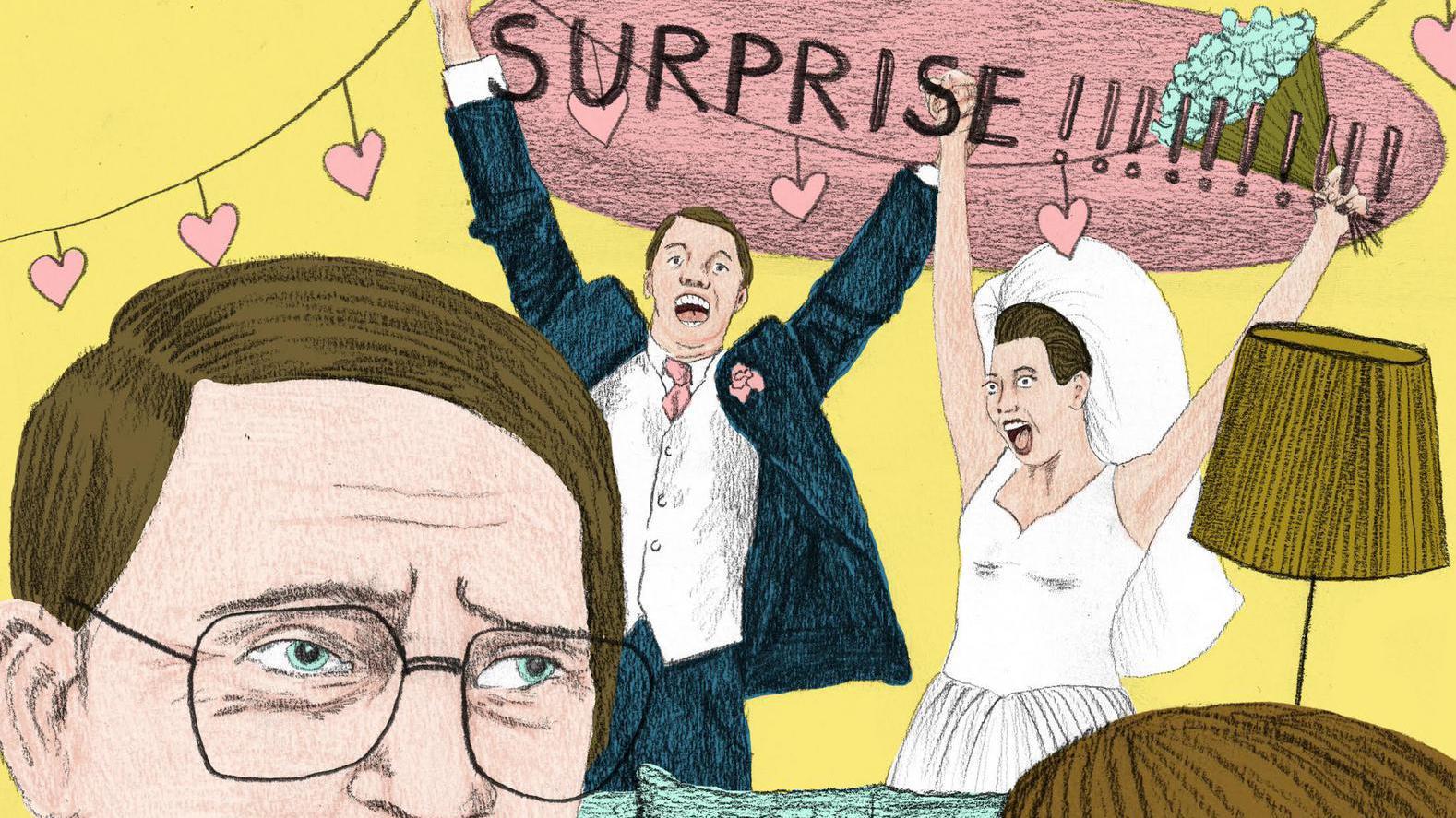 Hysterie maar ook 'gezeik achteraf': het verrassingshuwelijk rukt op