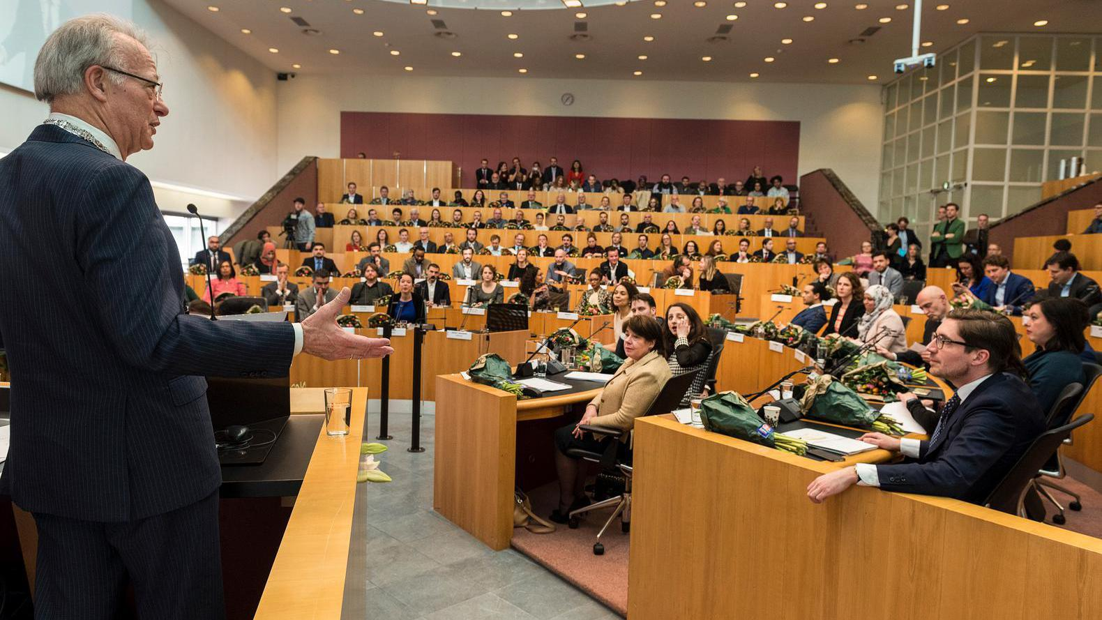 Even voorstellen: de nieuwe gemeenteraad van Amsterdam