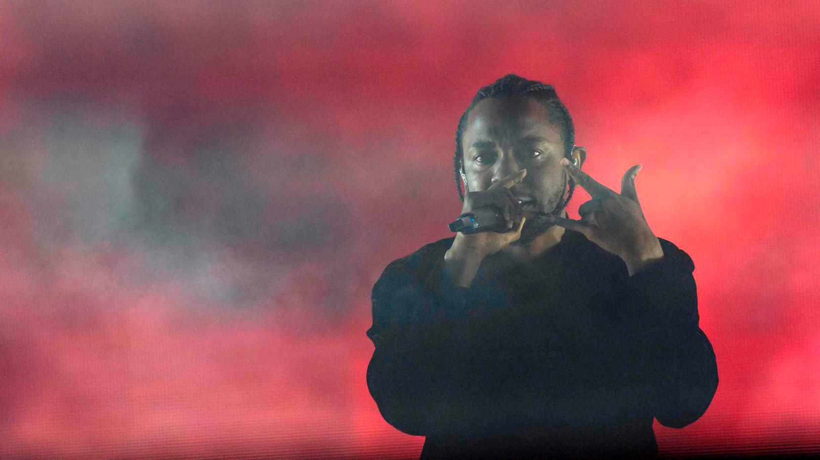 Bijna griezelig hoe gemakkelijk het Kendrick Lamar afgaat