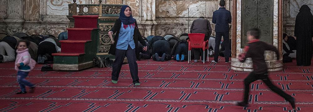 De imam zou mensen eens op verkeerde ideeën brengen