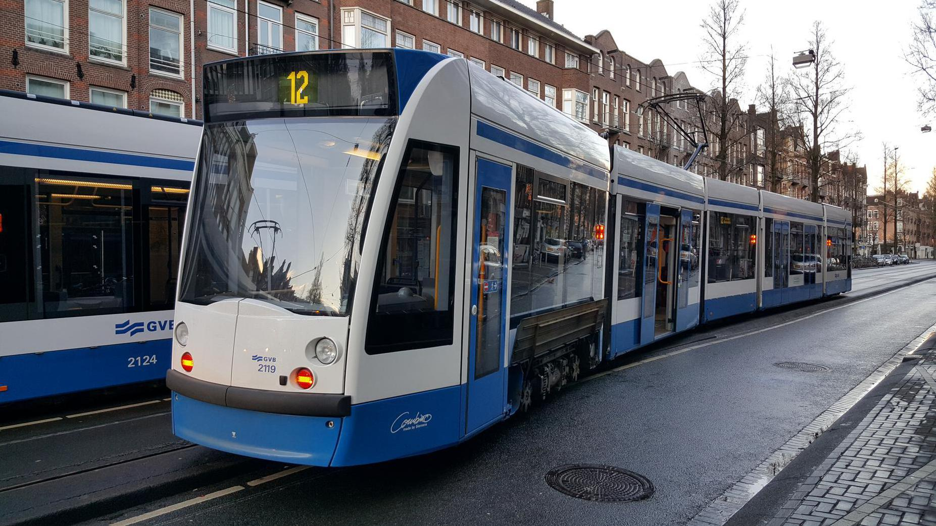 Trams 12 en 14 op elkaar gebotst in West