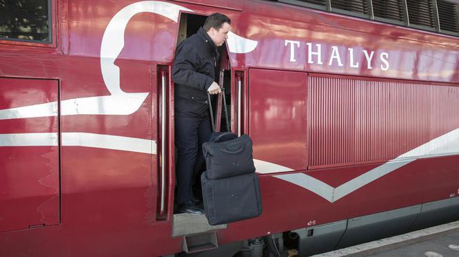 Machinist Steve (30): 'De Thalys is de Ferrari onder de treinen'